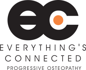 Everythings Connected Logo Osteopath Camberwell